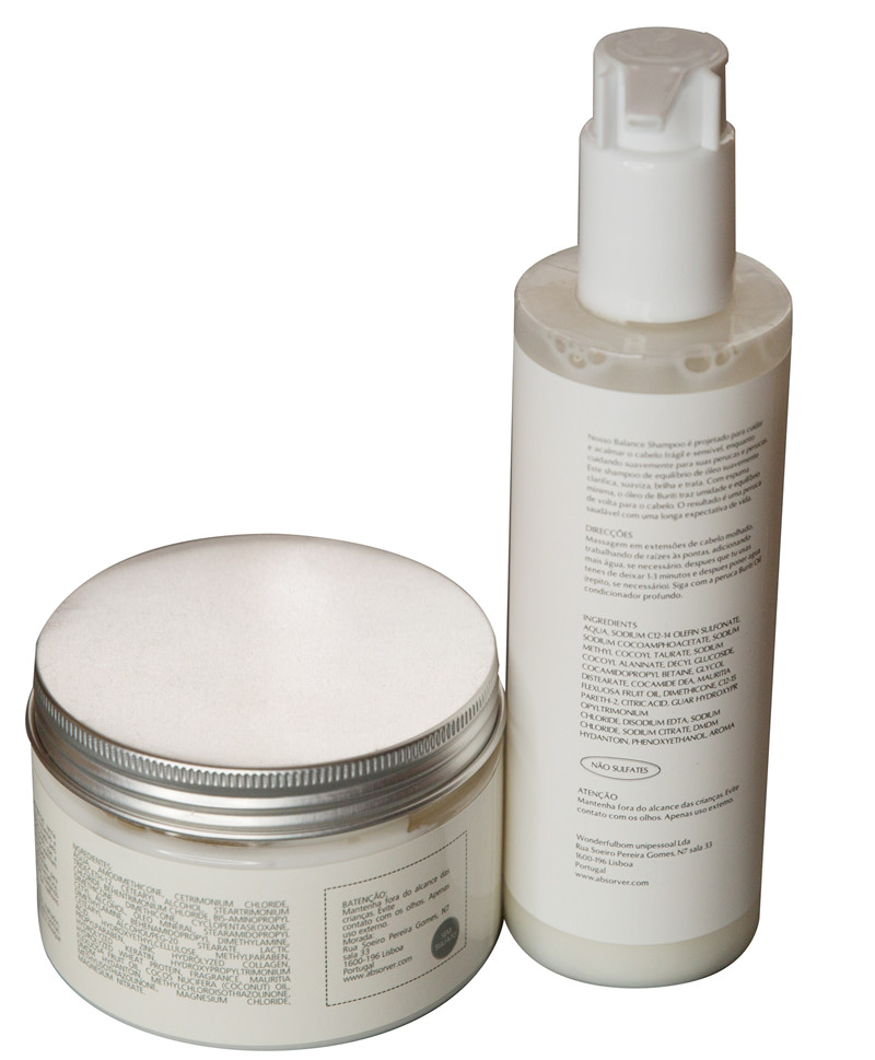 Absorver Wig Care Kit- shampoo and conditioner